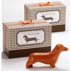 """As Seen On """"O, THE OPRAH MAGAZINE - Beauty Gift Guide""""! DESCRIPTION The Dachshund is clever, courageous and one of the most popular breeds in America. This accurate Dachshund rendering is scented with"""