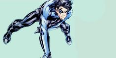 <3 Nightwing And Starfire, Red Costume, New 52, Dc Comics Art, Bat Family, Headers, Comic Art, Character, Batman Family