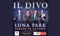 IL DIVO inicia la venta general: 28 de Octubre en Estadio Luna Park