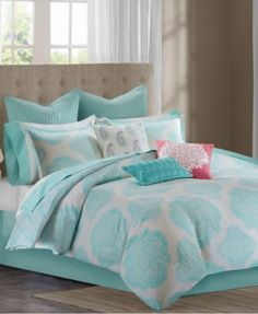 CLOSEOUT! Echo Bindi Comforter and Duvet Sets - Bedding Collections - Bed & Bath - Macy's