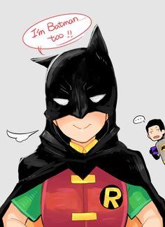 "envyrayusa: "" / I'm Batman…too !! \ """