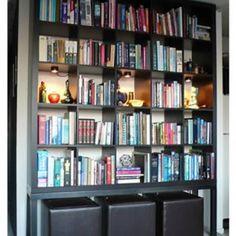 Come ordinare le borse nell armadio e non solo con - Libreria ikea lack ...