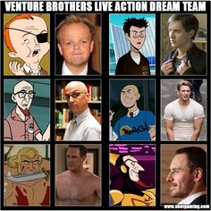 Venture Brothers Live Action Dream Team - Imgur