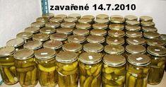 Pickles, Cucumber, Almond, Mason Jars, Food, Essen, Almond Joy, Mason Jar, Meals