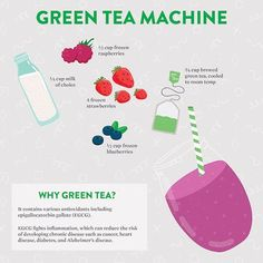 """In a healthy mood this St. Patrick's Day? Here's one idea for how you can """"green"""" things up--head to our FB page (facebook.com/basilhealth) for the full #infographic by @abbottglobal. #health #smoothies #greenfood #stpatricksday #recipes #veggies #vegan #greentea"""
