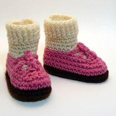 Pink Sandals with Ivory Socks Crochet Baby by HeathersTreasureBox, $24.00