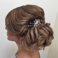 Formal Loose Chignon Updo