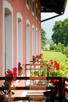 Hiso Franko, world renowned gostilna (Slovenian bistro) just outside Kobarid