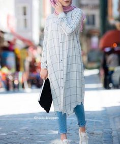 Perfect for college for summers casual hijab outfit, ootd hijab, hijab chic Hijab Fashion Summer, Modest Fashion Hijab, Modern Hijab Fashion, Casual Hijab Outfit, Hijab Fashion Inspiration, Hijab Chic, Muslim Fashion, Look Fashion, Fashion Outfits