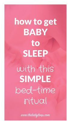 How to get a baby to sleep in his own bed! When our first son was born, we simply couldn't get him to sleep in his own bed. The only place he would sleep, was with me. But with this all-out baby to sleep bed-time ritual he learned to sleep in his own bed.
