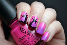 Image result for palm tree nail art