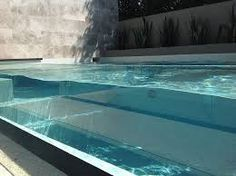 Image result for above ground glass pools