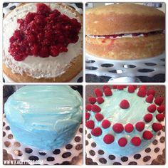 Blue Raspberry Lemonade Cake