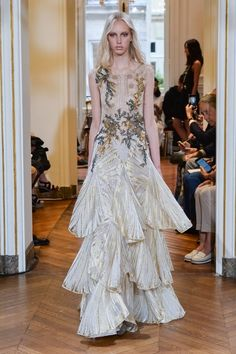 Pin for Later: Prepare to Lose It Over Couture Fashion Week's Most Extravagant Looks Alberta Ferretti
