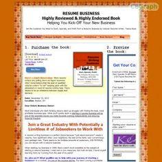 [GET] Download Start Resume-writing Business, 3rd Ed Bonus! : http://inoii.com/go.php?target=resumebiz