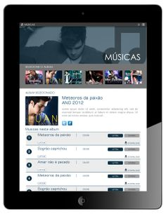 Músicas - Formato Ipad