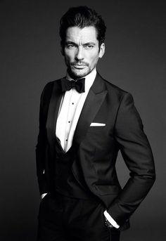 David Gandy in Suits