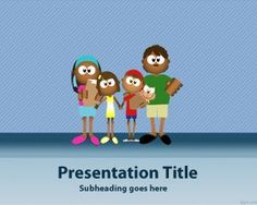 Family Four PowerPoint Template