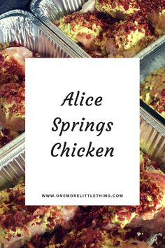 Alice Springs Chicken THM S