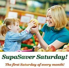 SUPASAVER SATURDAY is this Saturday September 7! SAVE 15% OFF ALL OUR VITAMINS & SUPPLEMENTS!