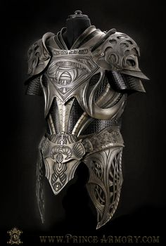 Krypton Cuirass by Azmal leather armor equipment gear magic item | Create your own roleplaying game material w/ RPG Bard: www.rpgbard.com | Writing inspiration for Dungeons and Dragons DND D&D Pathfinder PFRPG Warhammer 40k Star Wars Shadowrun Call of Cthulhu Lord of the Rings LoTR + d20 fantasy science fiction scifi horror design | Not Trusty Sword art: click artwork for source