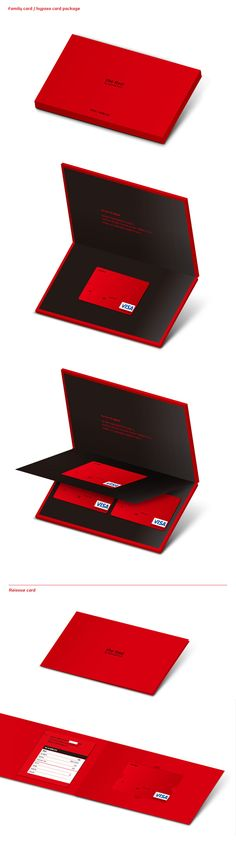Hyundai Card the Red Package Renewal Project on Behance Label Design, Branding Design, Package Design, Credit Card Design, Vip Card, Business Credit Cards, Plastic Card, Packaging Design Inspiration, Brand Packaging