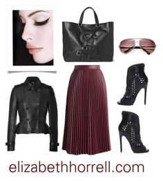 """Liz"" by elizabethhorrell ❤ liked on Polyvore featuring Privileged, Yves Saint Laurent, Chicwish, Burberry and Balenciaga"