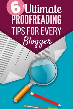 Editing and proofreading are two entirely different stages of the review process. There are six proofreading tips articles that you can follow for better results from the same.#bloggingtips #howtostartablog #startablog #makemoneyonline #blogging #writeablog #proofreading Make Money Blogging, How To Make Money, Blogging Ideas, New Things To Learn, Cool Things To Buy, Best Baby Bottles, Creative Writing Tips, Cool Gadgets To Buy, Easy Food To Make