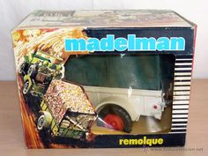 ¡¡LOS ORIGINALES!! MADELMAN ORIGINAL MADEL S.A AÑOS 70/80. MADELMAN Remolque Expedición Safari.