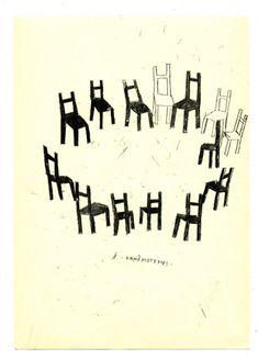 dessins carbonisés : Frederique Bertrand