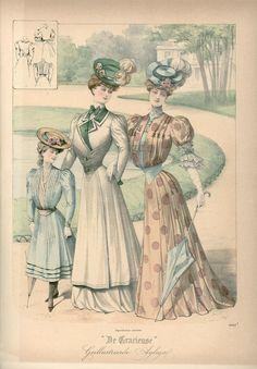 Gracieuse. Geïllustreerde Aglaja, 1905, aflevering 19, pagina 228/1