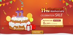 8% off for all items to Celebrate Linkdelight's 11th Anniversary! + Free Shipping!★Promo Code: 【NP160706】: New Arrival: http://www.linkdelight.com/New-Arrivalhtml.html Clearance: http://www.linkdelight.com/Clearance.html www.linkdelight.com