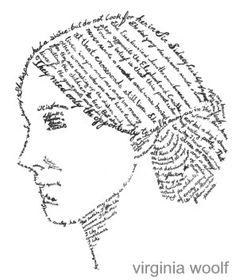 Calligrafia, Virginia Woolf