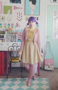 Scathingly Brilliant: mustard and mauve