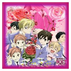 """Ouran High School Host Club Icon"" by smartypantz96 ❤ liked on Polyvore featuring art"