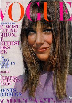 Jane Birkin, photo by John Cowan, Vogue US, January 1, 1970