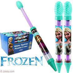 DISNEY'S FROZEN WATER BLASTERS. Now you can rule the pool with this Frozen water cannon. Water shooter extends from 12 to 19 inches.  Size 12 Inches