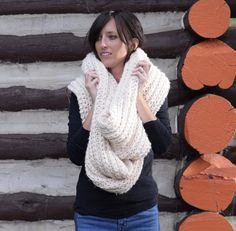 Today I want to share an easy scarf pattern that I got to design last year for I Like Knitting Magazine. This half fisherman rib scarf turns out quite beautiful and it works up quickly too even though it's HUGE. Many scarves measure around 60 inches long, but this one is right around 90 inches long and 10 inches wide!It's SUPER big and chunky, but it's an easy pattern to modify and make the scarf into any size you'd like (which might be good if you're wanting to make th...