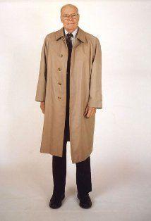 Robert McNamara in The Fog of War: Eleven Lessons from the Life of Robert S. Robert Mcnamara, The Fog Of War, Political Figures, Us Presidents, The Life, Duster Coat, Raincoat, Lady, Jackets