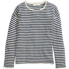 H&M Fine-knit jumper ($11) ❤ liked on Polyvore featuring tops, sweaters, shirts, jumpers, h&m, fine knit sweater, h&m shirts, h&m tops and extra long sleeve shirts