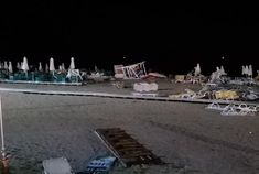 Published by Dudley News 11-7-2019. Images from the storm that devastated the Halkidiki area of Greece Greece storm survivor from Dudley tells how resort was devastated | Dudley News
