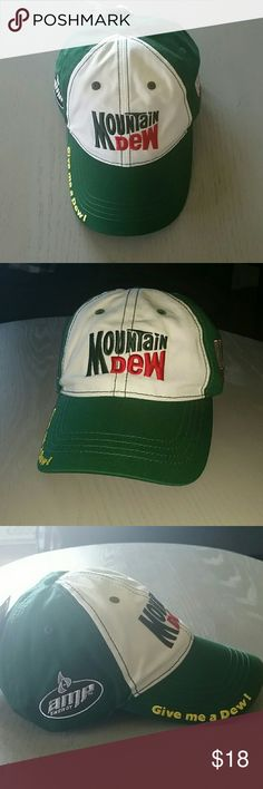 Mountain Dew Winner's Circle Nascar Cap Mountain Dew Winner's Circle NASCAR baseball cap / hat. Winner's Circle Accessories Hats