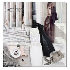 """Lace Dress"" by monazor ❤ liked on Polyvore featuring Rachel Comey, Oscar de la Renta, Chanel, Jil Sander, Antonio Berardi and lacedress"