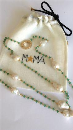 Perle e smeraldi