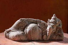 Want to buy a Ganesha statue? Wooden Statues, Brass Statues, Dancing Ganesha, Fen Shui, East Direction, Statue Base, Ganesh Idol, Sitting Posture, Elephant Head