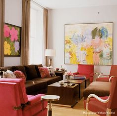 Color Combo: Yellow, Pink & Cream