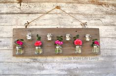I love the versatility of this decoration I am about to show you! It can be a vase, planter, candle holder, or a combination of these! It is totally up to you. You can hang it inside, outside, and change up the size according to your preference. It is so easy to personalize to fit …