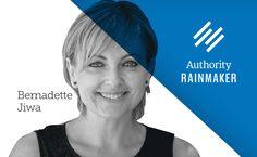 I am a business author, who leads organizational change around marketing and brand story.  Bernadette Jiwa