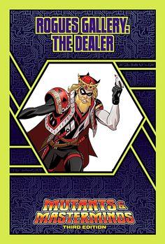 Mutants & Masterminds Rogues Gallery #47: The Dealer - Green Ronin | Mutants & Masterminds | M&M Rogues Gallery | DriveThruRPG.com