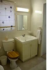 One of the bathrooms at Marina House